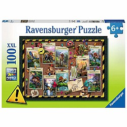 100pc Puzzle - Dinosaur Collection