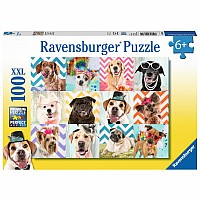 Doggy Disguise 100 pc puzzle