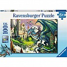 100 Piece Puzzle, Dragon Rider