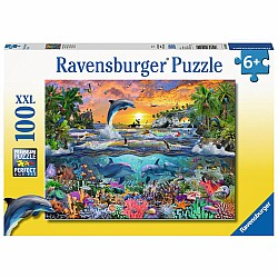 Tropical Paradise 100pc puzzle