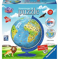 180 pc Children's Globe 3D Puzzle