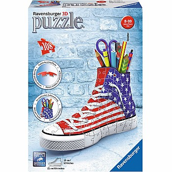 3d Puzzle - Sneaker American Style