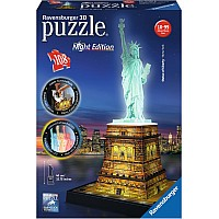 108 pc Statue of Liberty-Night Edition 3D Puzzle