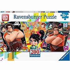Wreck It Ralph 2 (200 pc Panorama Puzzle)