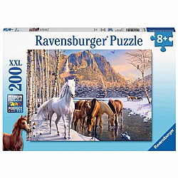 Winter Horses 200pc puzzle