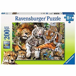 200pc Puzzle - Big Cat Nap