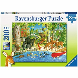 200pc Puzzle - Woodland Friends