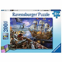 Blackbeard's Battle 200pc Puzzle