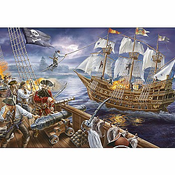 200pc Puzzle - Blackbeard's Battle