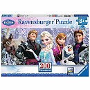Frozen Friends (200 pc Panorama Puzzle)