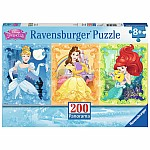 200 pc Beautiful Disney Princesses Panorama