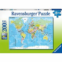Map Of The World 200Pc Puzzle