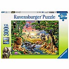 Evening at the Waterhole Puzzle