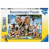 300 Piece African Friends Puzzle