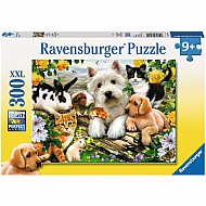 Happy Animal Buddies puzzle (300pc)