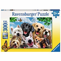 Delighted Dogs 300 pc puzzle