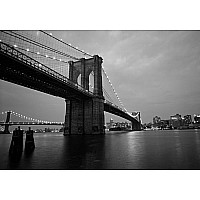 Ravensburger 'Brooklyn Bridge, NYC' (B&W) 300 piece 13527