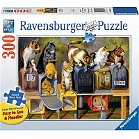 300 pc Cat's Got Mail Puzzle