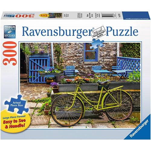 300-Piece Puzzle, Vintage Bicycle - Ravensburger