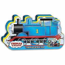 Thomas & Ashima (24 pc Floor Puzzle in Train Shaped Box)