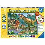 100 piece World of Dinosaurs