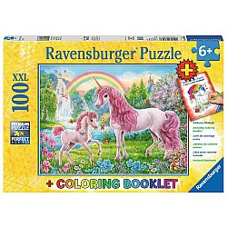 Magical Unicorns 100pc puzzle