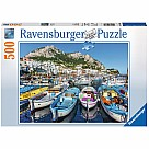 500 Piece Puzzle Colorful Marina