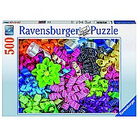 Ravensburger Colorful Ribbons Jigsaw Puzzle (500 Piece)