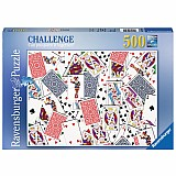 500 Piece 52 Shuffle Puzzle