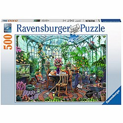 500pc Puzzle - Greenhouse Morning