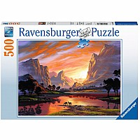 500 pc Tranquil Sunset Puzzle