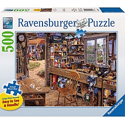 Dad's Shed 500pc puzzle