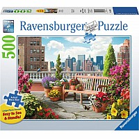 Rooftop Garden 500pc by Ravensburger