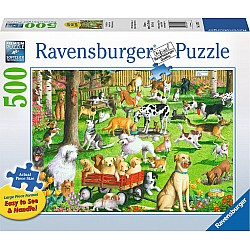 At the Dog Park 500pc puzzle