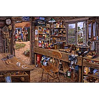 Ravensburger 'Dad's Shed' 500 piece 14921