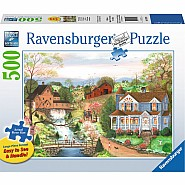 RAVENSBUGER 500 PIECE THE FISHING LESSON