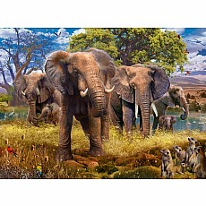 Elephants 500Pc Puzzle