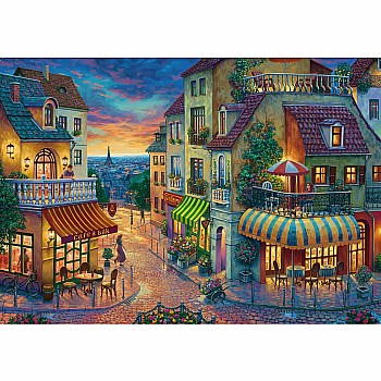 1000pc Puzzle - An Evening in Paris
