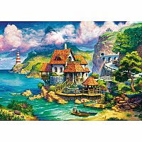 Ravensburger 1000 Piece Puzzle The Cliff House