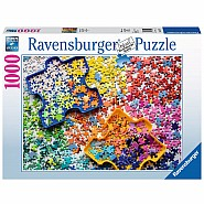 RAVENSBURGER 1000pc Puzzle -The Puzzler's Palette