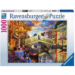 1000pc Puzzle - Sunset Over Rialto