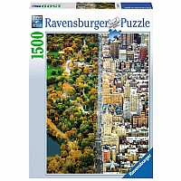 Divided Town 1500 pc puzzle