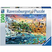 RAVENSBUGER 1500 PIECE OUR WILD WORLD