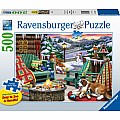 Apres All Day 500 Pc Puzzle