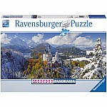 2000 pieces Neuschwanstein Castle (Panorama)