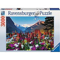 3000 Piece Puzzle Flowery Mountains