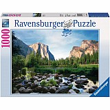 1000 Piece Yosemite Valley Puzzle