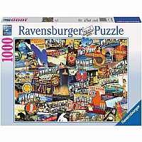 1000 pc Road Trip USA Puzzle