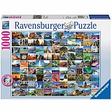 1000 Piece 99 Beautiful Places on Earth Puzzle