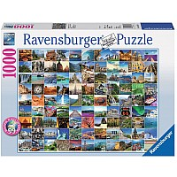 99 Beautiful Places on Earth - 1000 Pc Puzzle